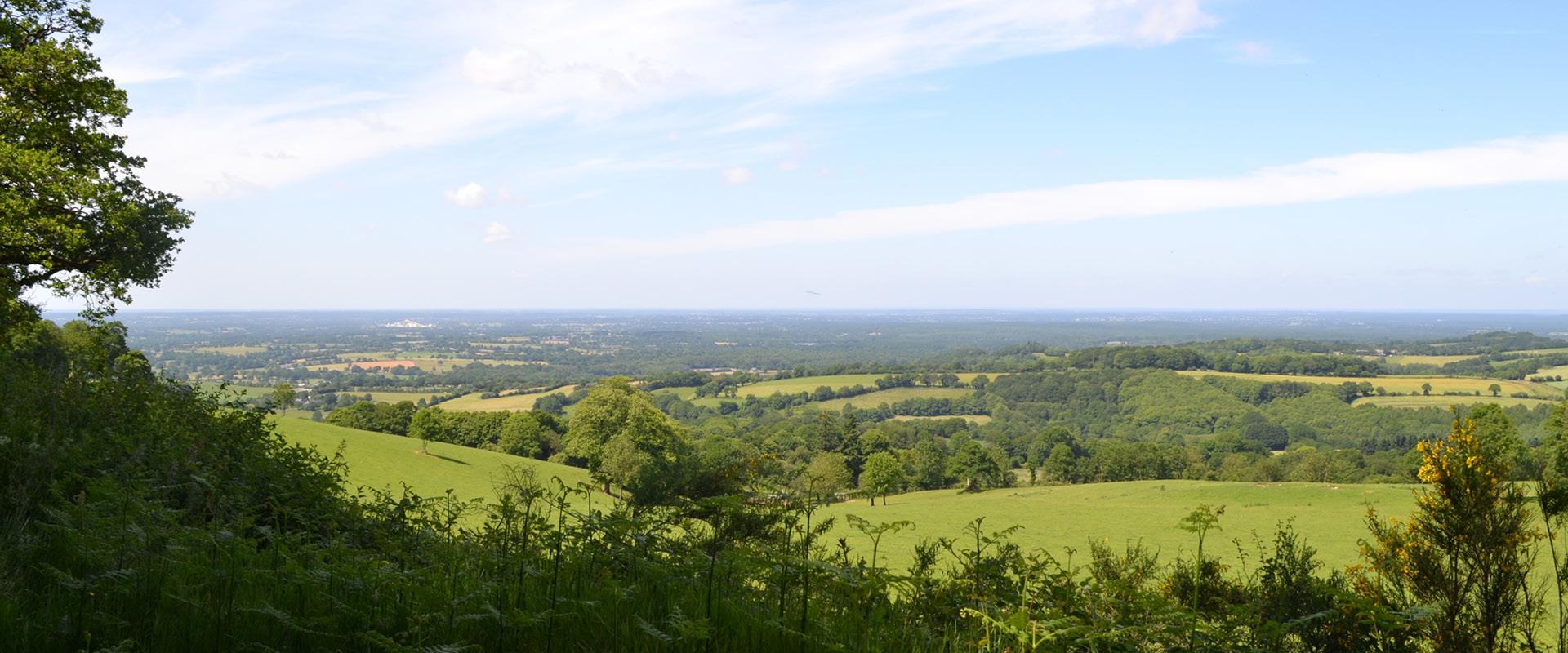 Crêtes d'Hambers en Mayenne