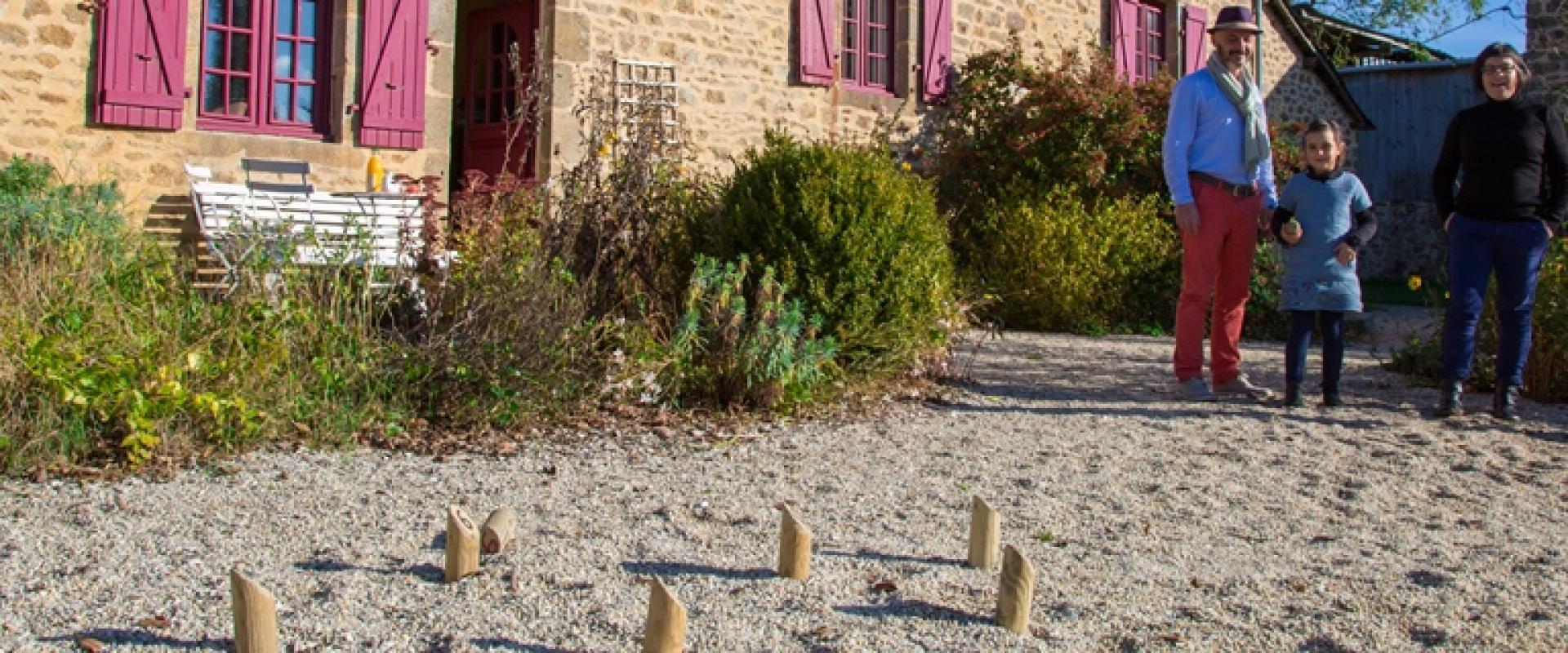 Gîte du Clos Huet à Mézangers en Mayenne