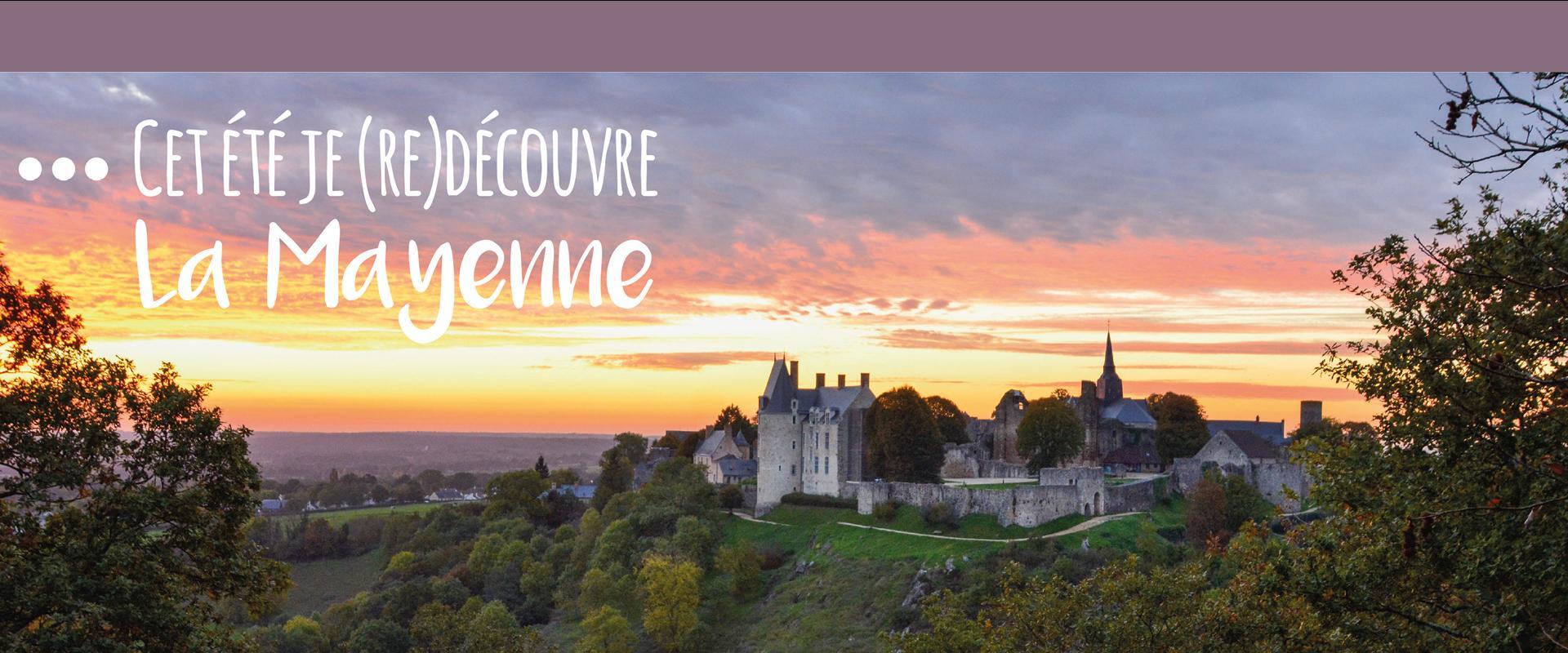 Cet été je redécouvre la Mayenne