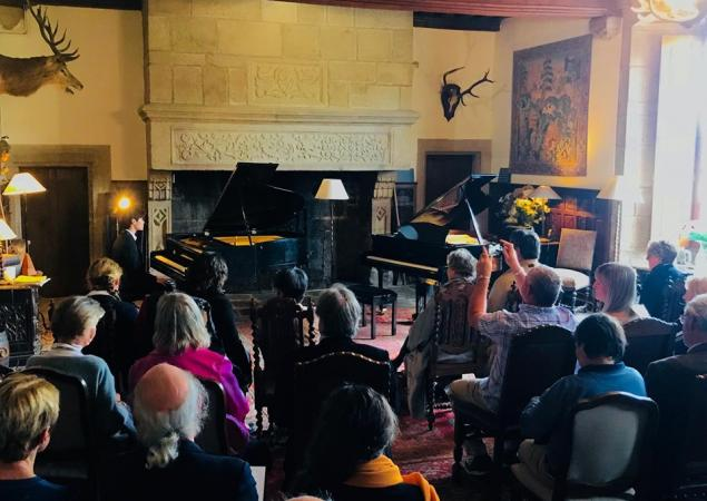 Concert au château de Bourgon