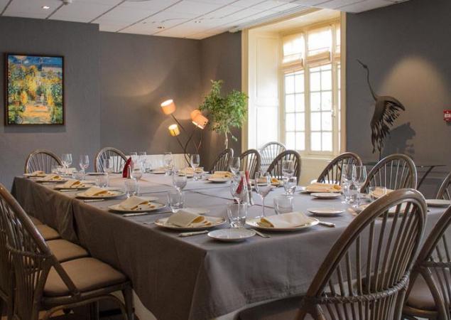 restaurant l'Ermitage à Saulges