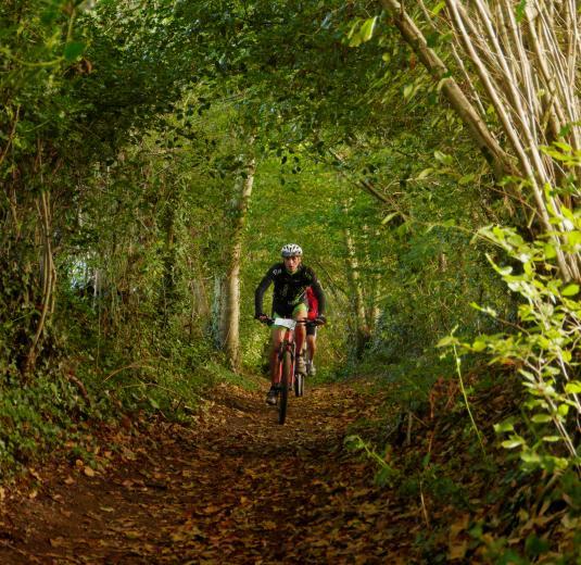 Randonnée à vélo dans les Coëvrons en Mayenne