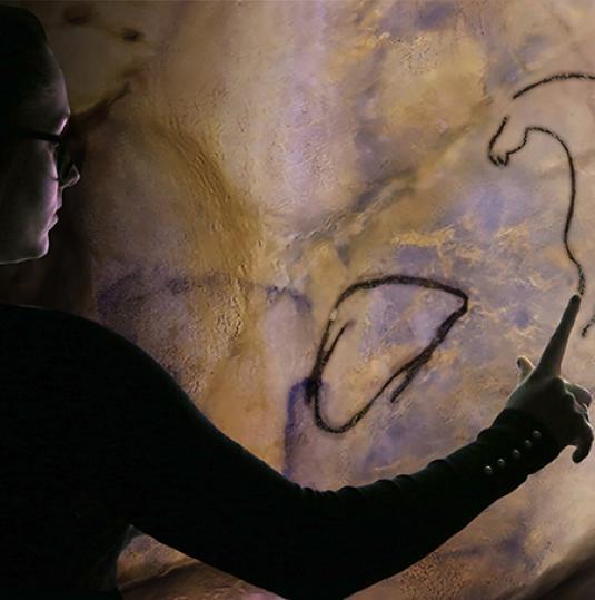 Paleograph au Musée de Préhistoire