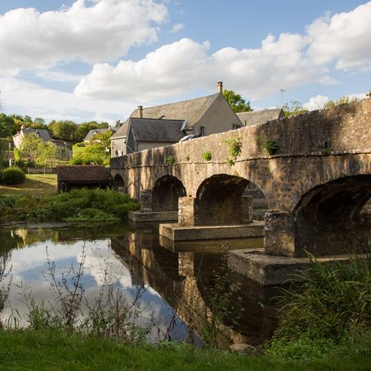 Village de Saint-Pierre-sur-Erve en Mayenne