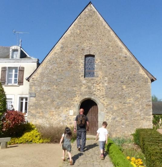 Chapelle Saint-Pierre à Saulges en Mayenne