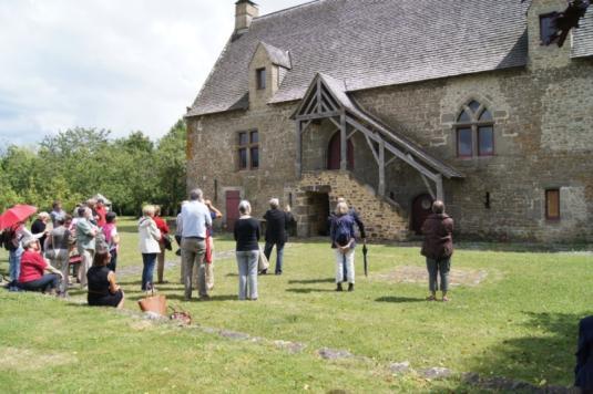 Visite guidée d'un manoir avec le Pays d'art et d'histoire Coevrons-Mayenne