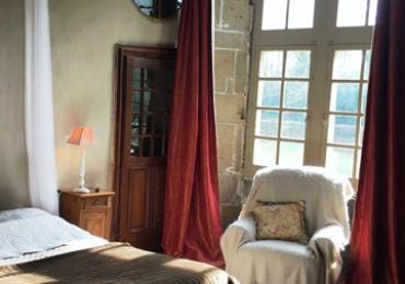 Chambre d'hôtes du Château de Bourgon à Montourtier en Mayenne