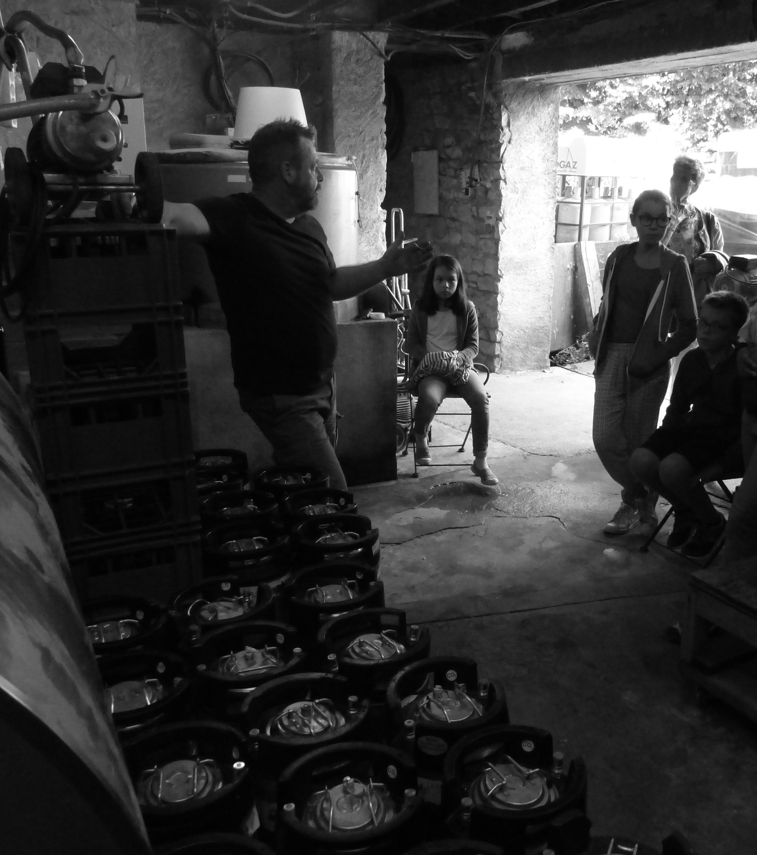 Visite de la Brasserie suzannaise à Sainte-Suzanne en Mayenne
